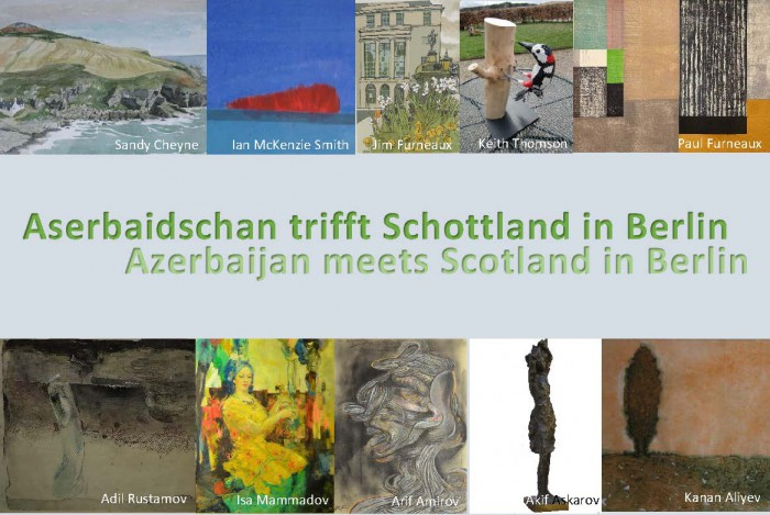 Azerbaijan meets Scotland in Berlin