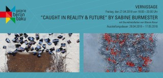 """Caught in Reality & Future"" by Sabine Burmester"